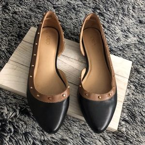 Cato flats shoes size 10 black brown